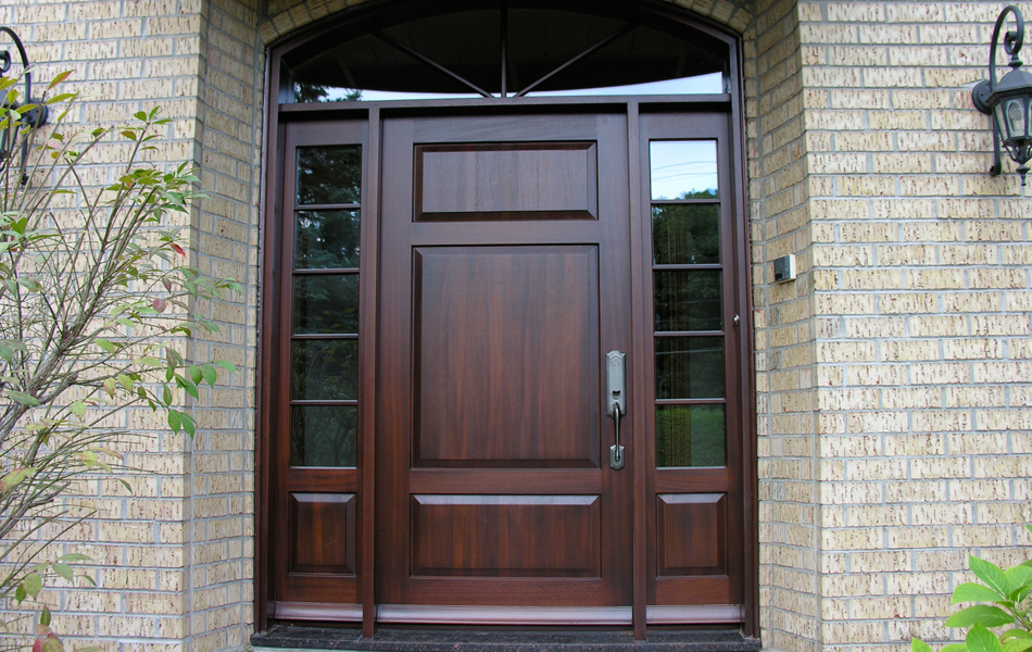 achievements wooden doors and windows nocra montreal On porte et fenetre en bois